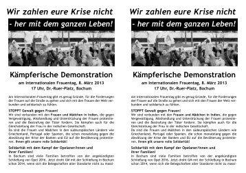 8März2013 Demo.qxd - Die Linke NRW