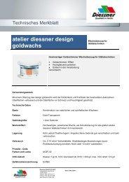 atelier diessner design goldwachs