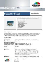 Diescolith Granisil - Diessner