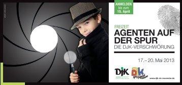 Agenten Auf der spur - DJK-Sportverband Diözesanverband Münster