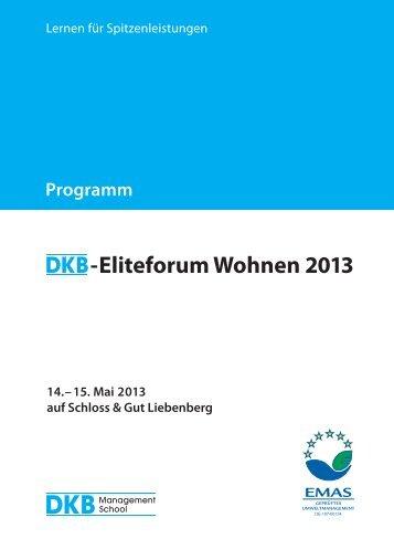 Programmheft - DKB Management School