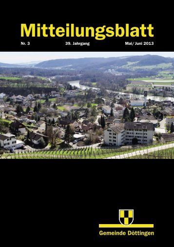 Mitteilungsblatt - Gemeinde Döttingen