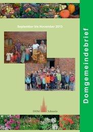 Gemeindebrief 3-2013 - Dom zu Schwerin