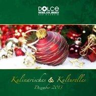 Kulinarisches & Kulturelles - Dolce Bad Nauheim