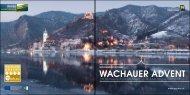 WACHAUER ADVENT - Donau Niederösterreich Tourismus GmbH