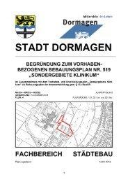 VEP 519 - Stadt Dormagen