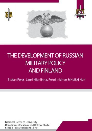 the development of russian military policy and finland