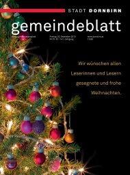 Frohe Weihnachten! - Dornbirn Online