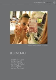 Lebenslauf (pdf) - Dorothea Seror