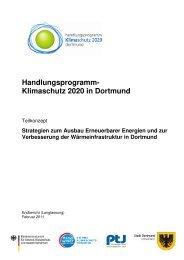 Strategien für den Ausbau erneuerbarer Energien ... - Stadt Dortmund