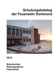 Schulungskatalog 2014 [pdf, 5,2 MB] - Stadt Dortmund