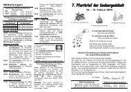 09. – 16. Februar 2014 - Bistum Hildesheim
