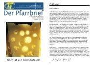 Gott ist ein Emmentaler! - Bistum Hildesheim