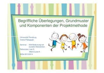 Begriffliche Überlegungen, Grundmuster und ... - Dr. Hans Toman