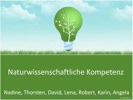 Naturwissenschaftliche Kompetenz - Dr. Hans Toman