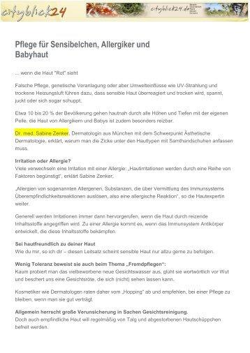 cityblick24 Nov. 2013 - Dr. Zenker Dermatologie