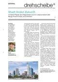 Zukunft der Stadt - Drehscheibe - Page 2