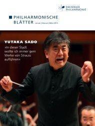 Januar - März 2014 (PDF 5,7 MB) - Dresdner Philharmonie