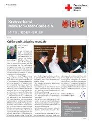 Download komplette Ausgabe - DRK Kreisverband Märkisch-Oder ...