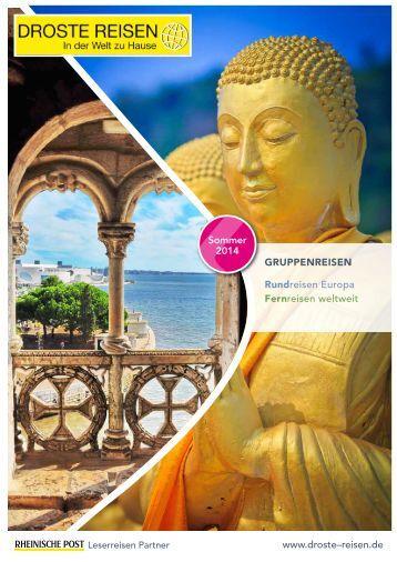 Rund- und Fernreisen Katalog 2014 - Droste Reisen