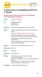 Aus- und Fortbildungen Nr. 301-311 - Deutscher Schützenbund eV