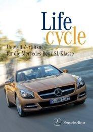 Umwelt-Zertifikat für die Mercedes-Benz Sl-Klasse - Daimler