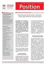 Hochwasserschutz weiter ausbauen - Deutscher Städte- und ...