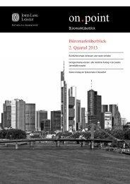 Jones Lang LaSalle | Büromarktüberblick Q2 2013 - Düsseldorf ...