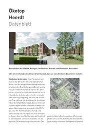 Ökotop Heerdt Datenblatt - Düsseldorf Realestate