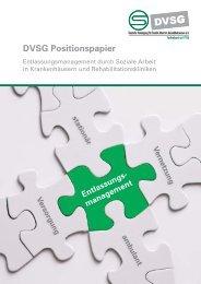 Entlassungmanagement durch Soziale Arbeit - DVSG