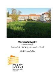 Expose (PDF | ca. 850 KB) - Dessauer Wohnungsbaugesellschaft ...