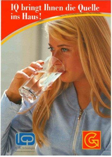 Page 1 Page 2 Das Besondere am Lebenselixier Wasser es hat ein ...