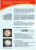 Page 1 Page 2 Das Besondere am Lebenselixier Wasser es hat ein ... - Page 2
