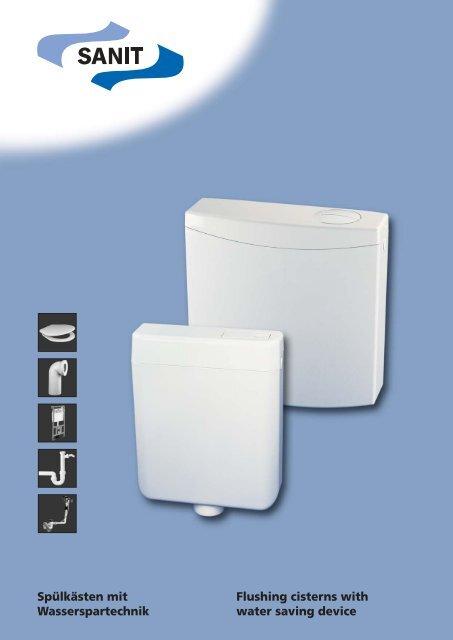 Spülkästen mit Wasserspartechnik Flushing cisterns with water ...