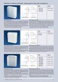 Spülkästen mit Wasserspartechnik Flushing cisterns with water ... - Page 5