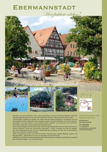 Zu Gast inEbermannstadt ...