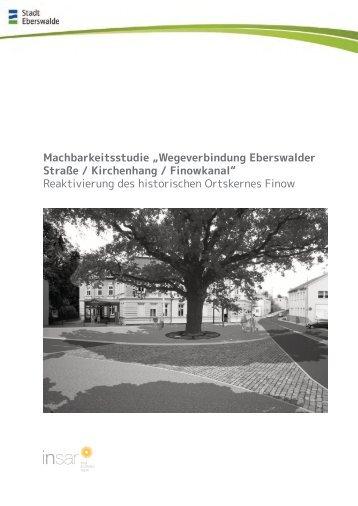 Textteil I (12 MB) - Stadt Eberswalde