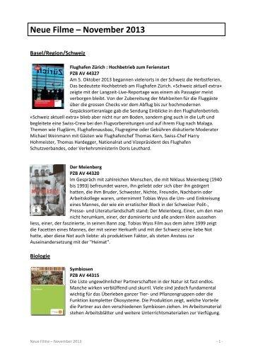 Neue Filme November 2013 — PDF document, 1231Kb