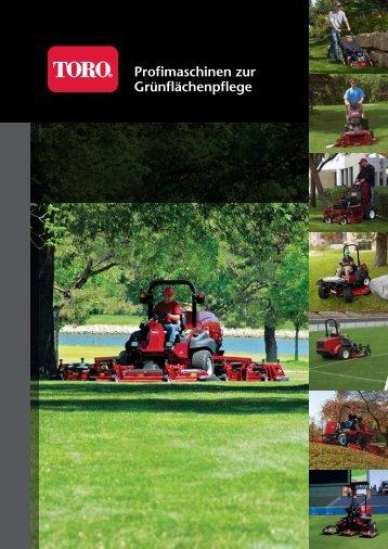 Profimaschinen zur Grünflächenpflege