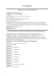 Die Veranstaltungen des Sommersemesters 2013 als