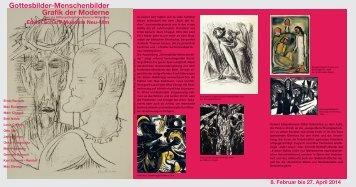 Gottesbilder-Menschenbilder Grafik der Moderne - Edwin Scharff ...