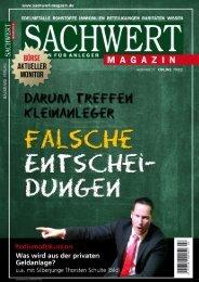 Sachwert Magazin online Nr 21