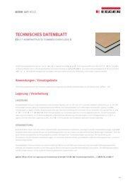 EGGER Kompaktplatten Flammex Euroclass B (PDF)