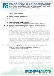 ELG Programm hoch HG.pdf - Emschergenossenschaft