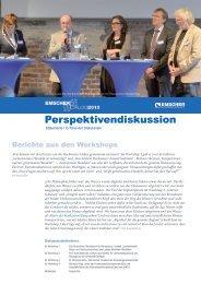 Perspektivendiskussion - EGLV