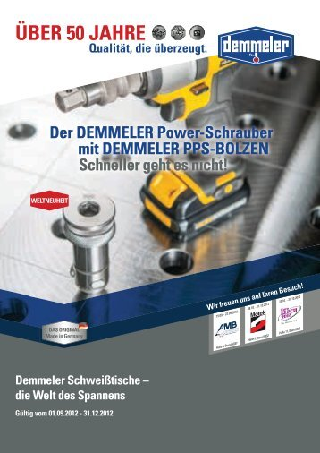 PDF ( 3.01  MB) - Demmeler Maschinenbau GmbH & Co. KG