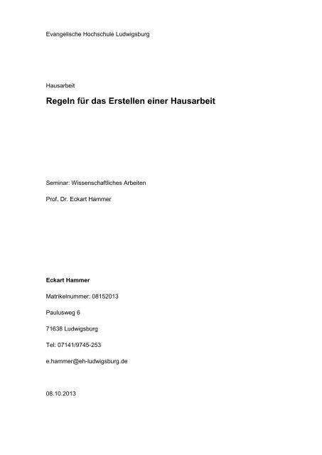 Inhaltsverzeichnis 1 Einl