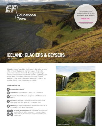 Download detailed itinerary - EF Tours