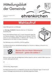 Ehrenkirchen_KW_38.pdf - Gemeinde Ehrenkirchen
