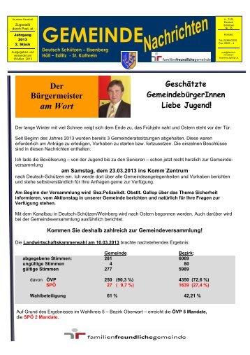 hier klicken - Gemeinde Deutsch Schützen Eisenberg